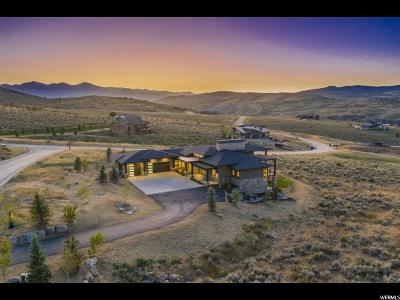 Wasatch County Single Family Home For Sale: 6101 E Blue Wing Loop #74