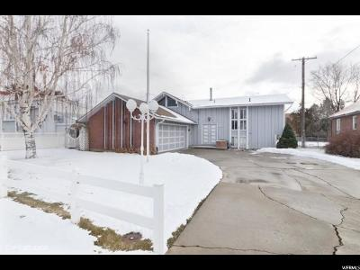 Wasatch County Single Family Home For Sale: 45 W 500 S
