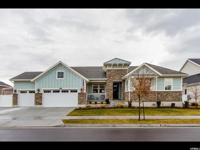 South Jordan Single Family Home For Sale: 11713 S River Front Pkwy