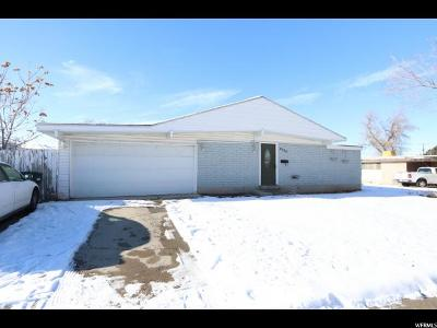 West Valley City Single Family Home For Sale: 3714 S 4310 W