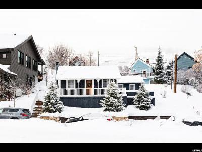Park City Single Family Home For Sale: 64 S Chambers Ave W