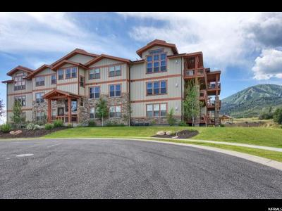 Wasatch County Condo For Sale: 1288 N Deer Park Cir #203