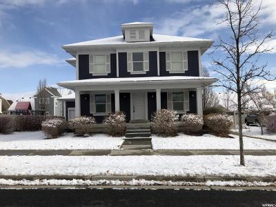 South Jordan Single Family Home For Sale: 11643 S Lake Run Rd