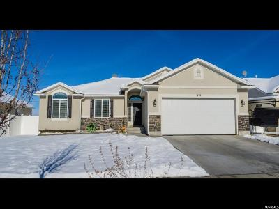 Tooele Single Family Home For Sale: 312 W 970 N