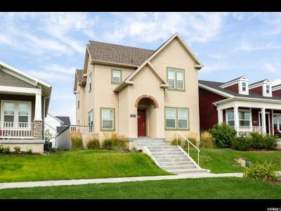 South Jordan Single Family Home For Sale: 10214 S Petaluma Way