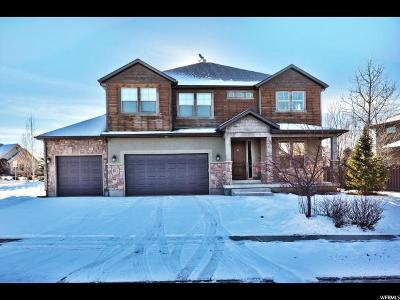 Wasatch County Single Family Home For Sale: 821 Cornerstone Ln