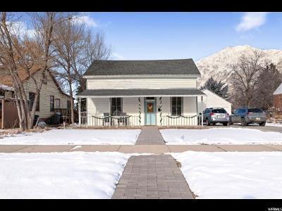 Springville Single Family Home For Sale: 243 E Center St