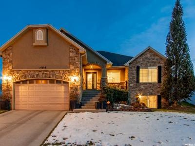 Herriman Single Family Home For Sale: 14288 S Heartstone Cir W