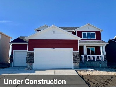 Eagle Mountain Single Family Home For Sale: 4301 E Harvest Crop Dr N