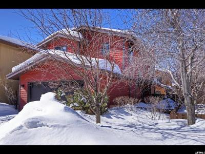 Park City Single Family Home For Sale: 1033 Station Loop Rd