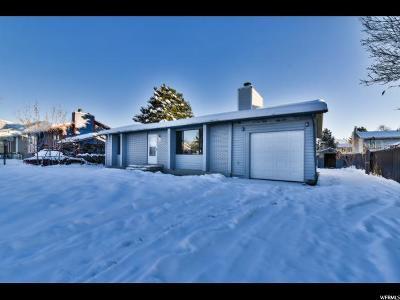 Tooele Single Family Home For Sale: 533 W Havasu St