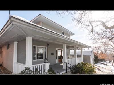 Salt Lake City Single Family Home For Sale: 268 I St