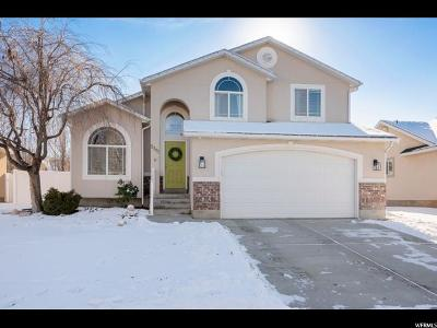 Herriman Single Family Home For Sale: 5391 W Morning Blush Dr