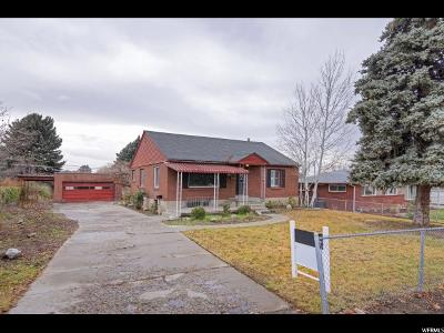 Salt Lake City Single Family Home For Sale: 2490 E Lambourne Ave S