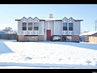 West Valley City Single Family Home For Sale: 4120 S 6180 W