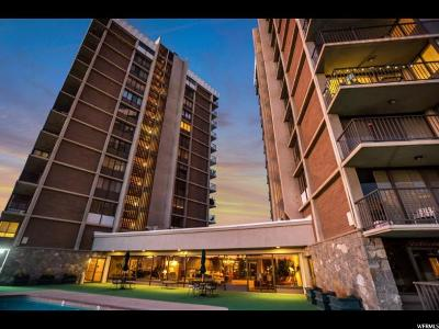 Salt Lake City Condo For Sale: 241 N Vine St E #902W