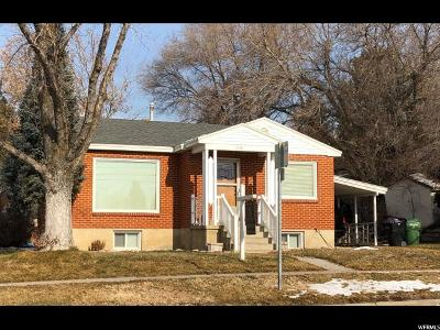Brigham City Single Family Home For Sale: 238 W 700 S