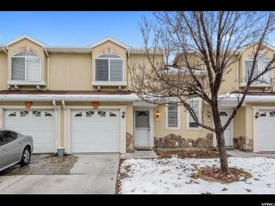 West Jordan Townhouse For Sale: 4789 W Udine Ct S