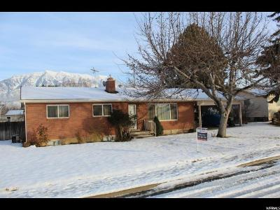 Orem Single Family Home For Sale: 1154 N 50 E