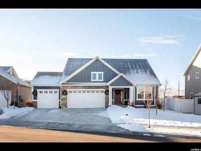 Wasatch County Single Family Home For Sale: 542 E Old Mill Dr