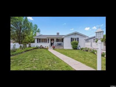 Holladay Single Family Home For Sale: 2551 E 4510 S