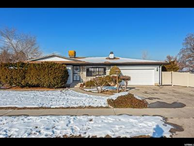 West Valley City Single Family Home For Sale: 3830 W Rawhide Dr S