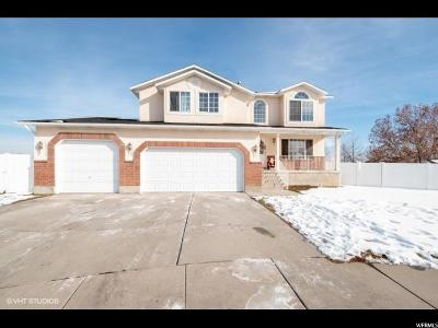 West Jordan Single Family Home For Sale: 7551 S Wood Mesa Dr W