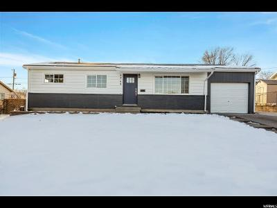 Salt Lake City Single Family Home For Sale: 4949 W 5320 S