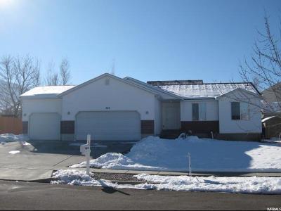 Tooele Single Family Home For Sale: 328 E 740 N