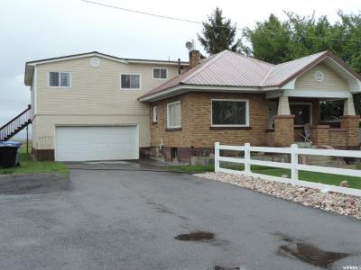 Benson Single Family Home Under Contract: 3074 W 3200 N