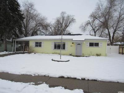 Salt Lake City Single Family Home For Sale: 4821 W 4805 S