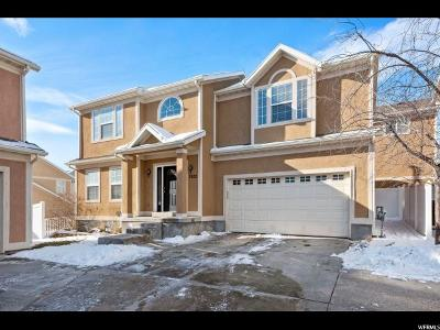 West Jordan Single Family Home For Sale: 7622 S Yellowwood Ln W