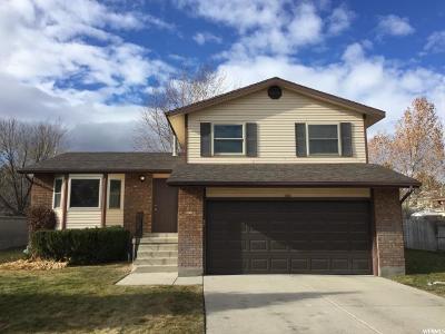 West Jordan Single Family Home For Sale: 9262 S Vista West Dr W