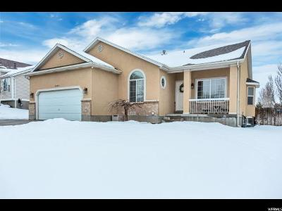 Salt Lake City Single Family Home For Sale: 6404 S Wakefield Way W