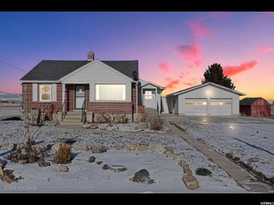 Tremonton Single Family Home For Sale: 1465 E Main St E