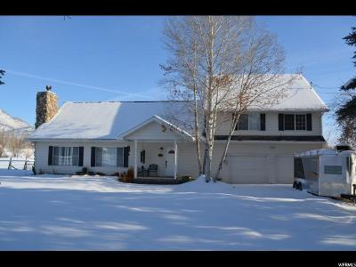 Midway Single Family Home For Sale: 910 N 75 W