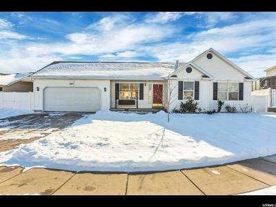 West Jordan Single Family Home For Sale: 6171 W Gold Bullion Ct S