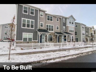 Herriman Townhouse For Sale: 5231 W Linley Ct S #56