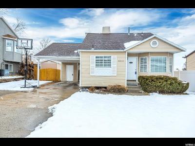 West Jordan Single Family Home For Sale: 5546 W Saguaro Dr S