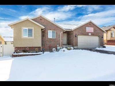 West Jordan Single Family Home For Sale: 5731 W Sorrento Way S