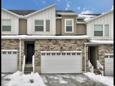 Herriman Townhouse For Sale: 14454 S Quiet Shade Dr