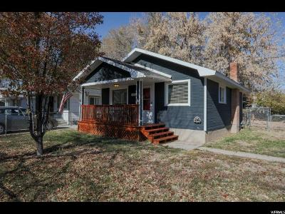 Salt Lake City Single Family Home For Sale: 285 E Browning Ave