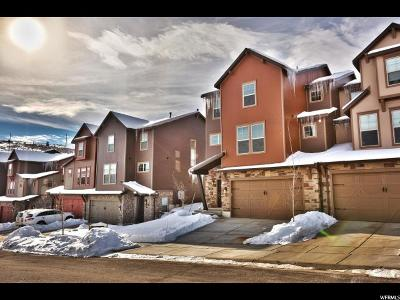 Wasatch County Townhouse For Sale: 1131 W Abigail Dr #237