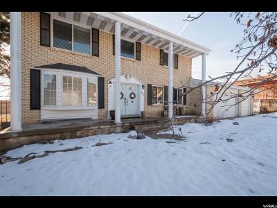 South Jordan Single Family Home For Sale: 9684 Shettleston Cir