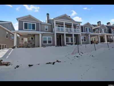 Salt Lake County Townhouse For Sale: 5654 W Island Ridge Dr