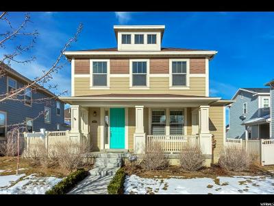 South Jordan Single Family Home For Sale: 4396 W Mille Lacs Dr S
