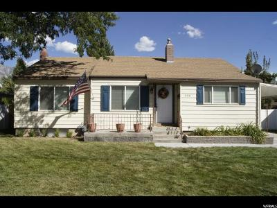 Provo Single Family Home For Sale: 666 N 800 W