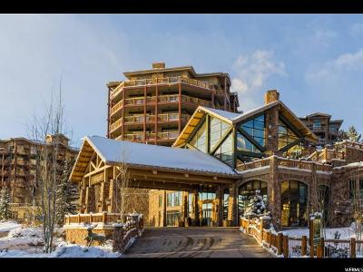 Park City Condo For Sale: 3000 Canyons Resort Dr #10-702