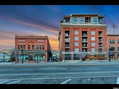 Salt Lake City Condo For Sale: 328 W 200 S #301