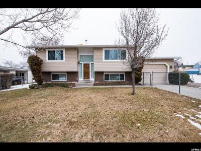 West Valley City Single Family Home For Sale: 3865 S 7080 W